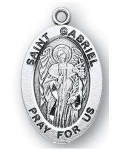 St. Gabriel SS medal oval