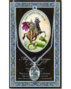 Pewter St. George Medal