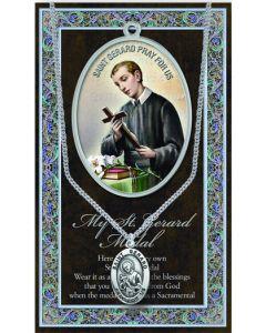 Pewter St. Gerard Medal