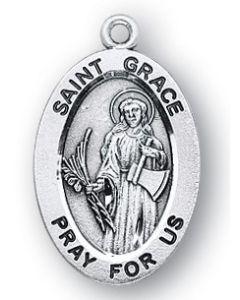 St. Grace SS medal oval
