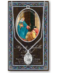 Pewter St. Isabella Medal