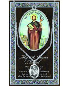 Pewter St. James Medal