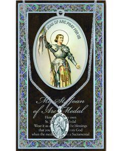 Pewter St. Joan of Arc Medal