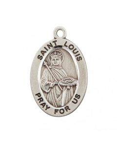St. Louis SS medal oval