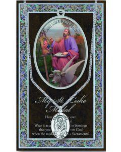 Pewter St. Luke Medal