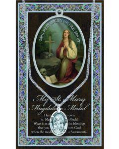Pewter St. Mary Magdalene Medal