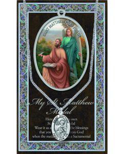 Pewter St. Matthew Medal