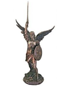 "St. Michael the Archangel 14.5"" Statue"