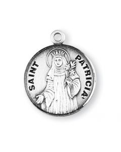 St. Patricia SS medal round