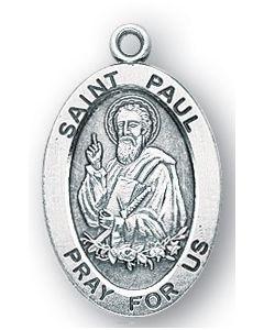 St. Paul SS medal oval