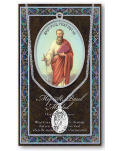 Pewter St. Paul Medal
