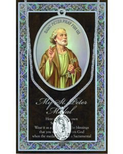 Pewter St. Peter Medal