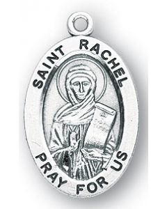 St. Rachel SS medal oval