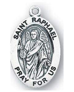St. Raphael SS medal oval