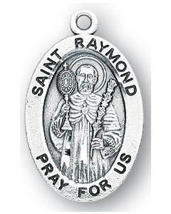 St. Raymond SS medal oval