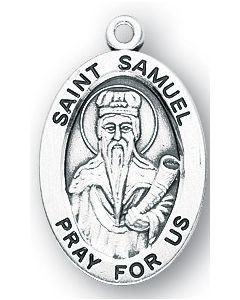 St Samuel SS medal oval