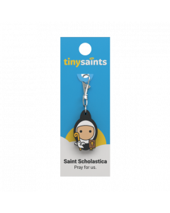St. Scholastica Tiny Saint