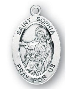 St. Sophia SS medal oval