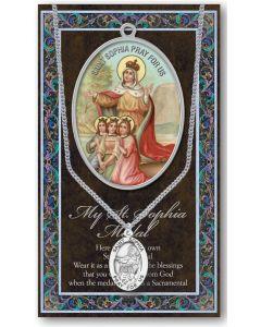 Pewter St. Sophia Medal