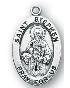 St. Stephen SS medal oval