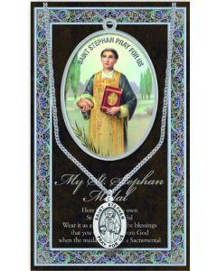 Pewter St. Stephen Medal
