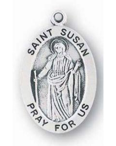 St. Susan SS medal oval