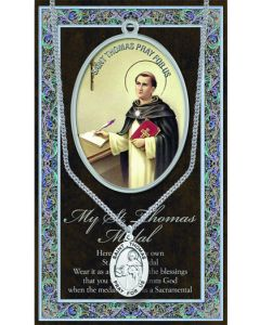 Pewter St. Thomas Medal