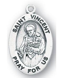 St. Vincent de Paul SS medal oval
