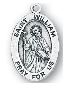 St. William SS medal oval