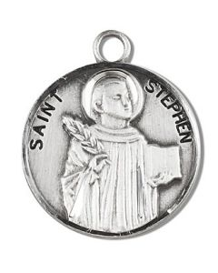 St. Stephen SS medal round