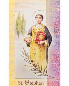 St. Stephen Mini Biography
