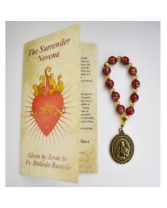 Surrender Novena Beads and Booklet