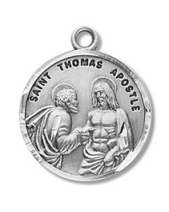 St. Thomas the Apostle SS medal round