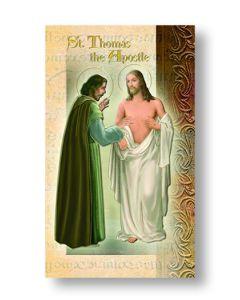 St. Thomas the Apostle Mini Biography