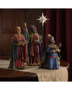 Three Kings with Gifts