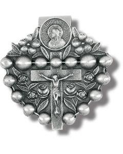 Rosary Auto Visor Clip