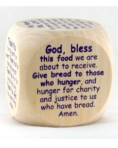 Mealtime Prayer Cube