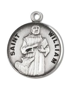 St. William SS medal round